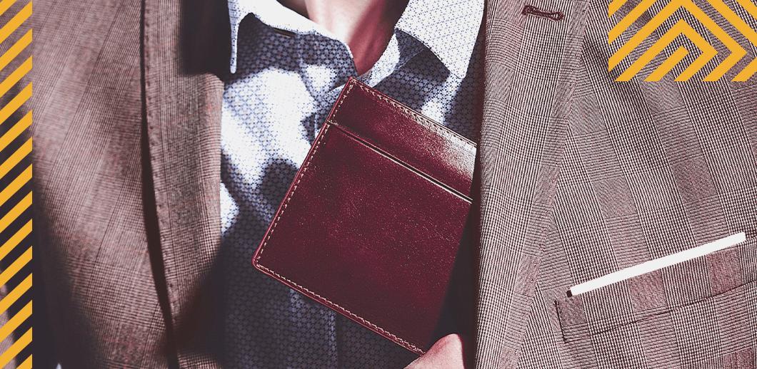 Como escolher uma carteira masculina?